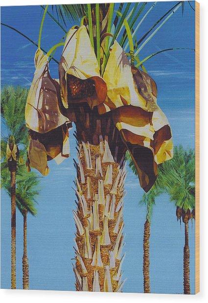 Date Palm Wood Print