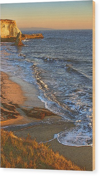 Davenport Sunset J Wood Print by Larry Darnell