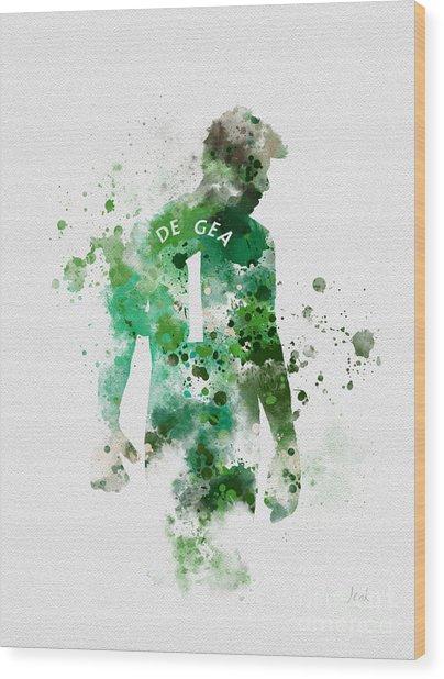 David De Gea Wood Print