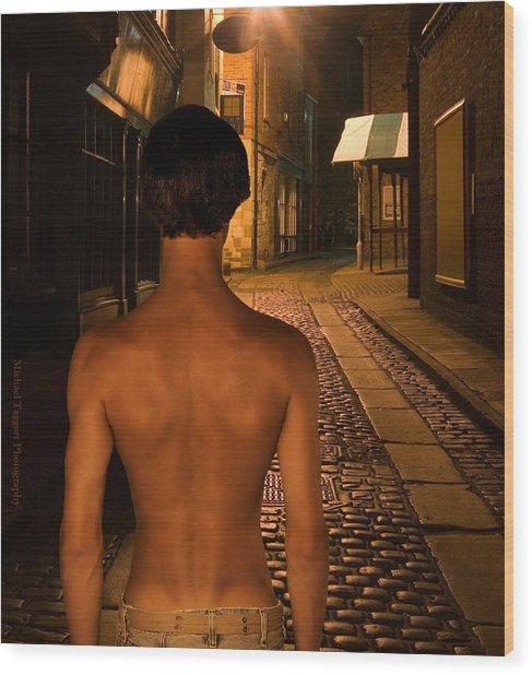 David Riedinger Young Sherlock Holmes Wood Print