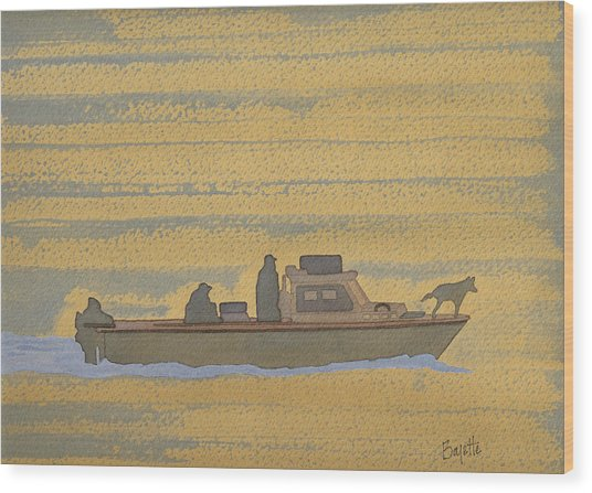 Dawn At Prout's Neck   Wood Print by Robert Boyette