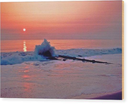 Dawn Breaker Wood Print
