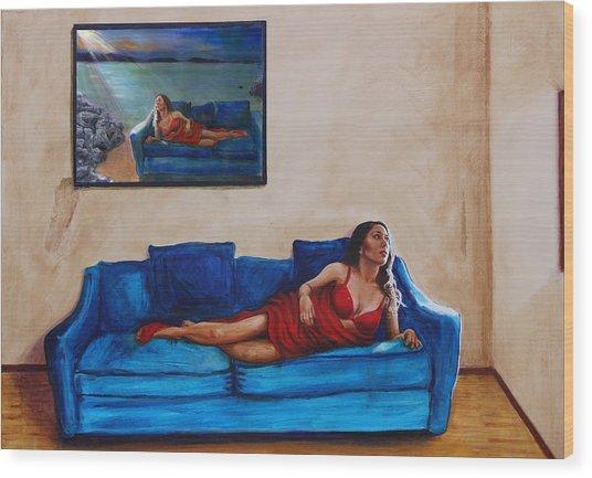 Day Dream 13 Wood Print by Charles Bickel