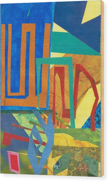 Day Tripper Wood Print by Jerry Hanks