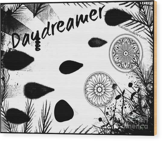 Daydreamer Wood Print