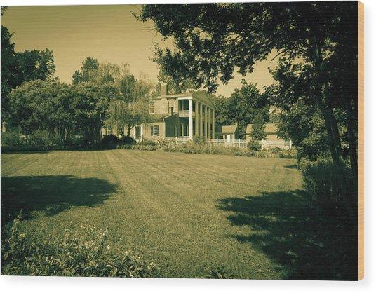 Days Bygone - The Hermitage Wood Print