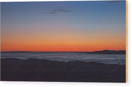 Days Pre Dawn Wood Print