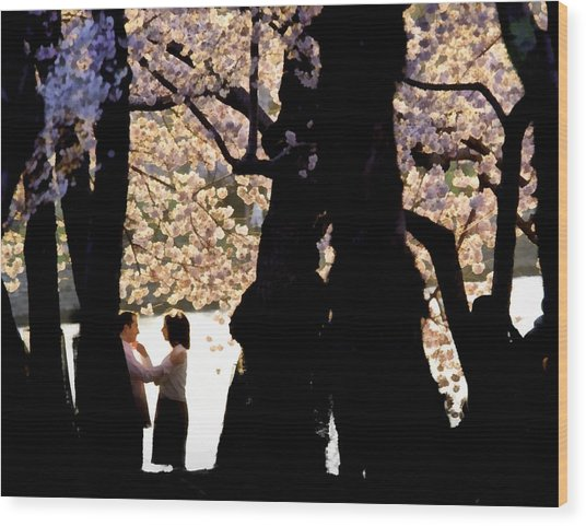 Dc Spring Wood Print by Jim Proctor