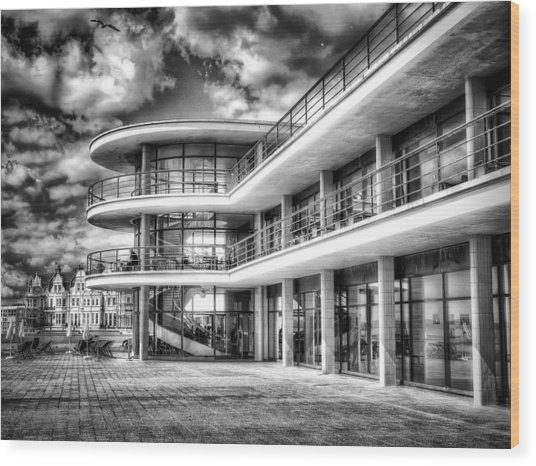 De La Warr Pavillion Wood Print