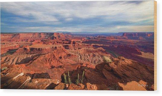 Dead Horse State Park Utah Wood Print