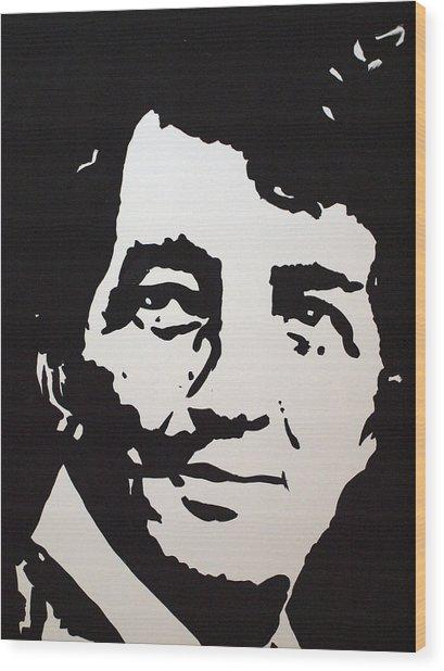 Dean Martin Loving Life Wood Print