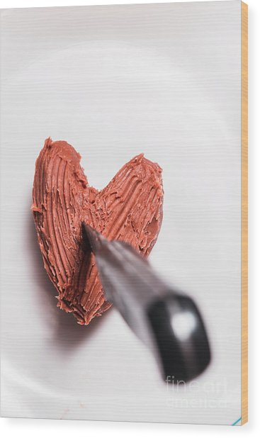 Death By Chocolate Wood Print