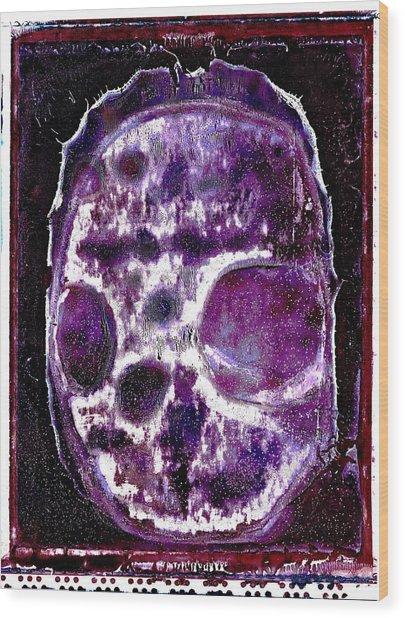 Death Followed By A Question Mark Wood Print