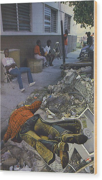 Death Of A Salesman Wood Print by Kevin Porter