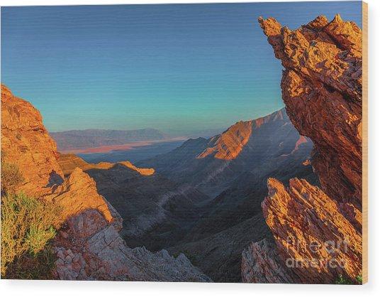 Death Valley 1 Wood Print