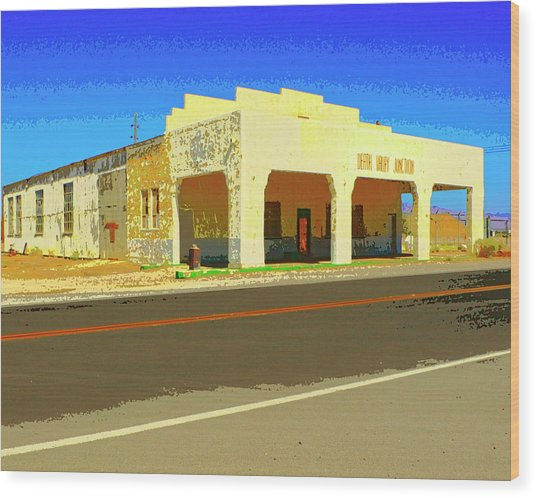 Death Valley Junction Wood Print