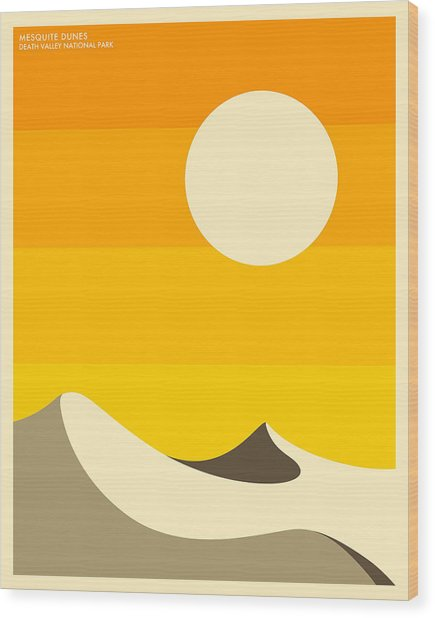 Death Valley National Park Wood Print