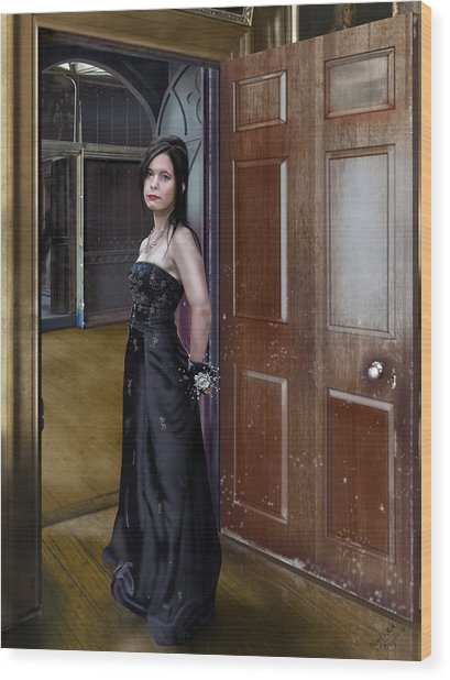 Debutante Wood Print