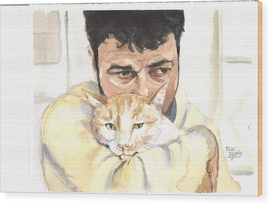 December Alaa And Ernesto Wood Print