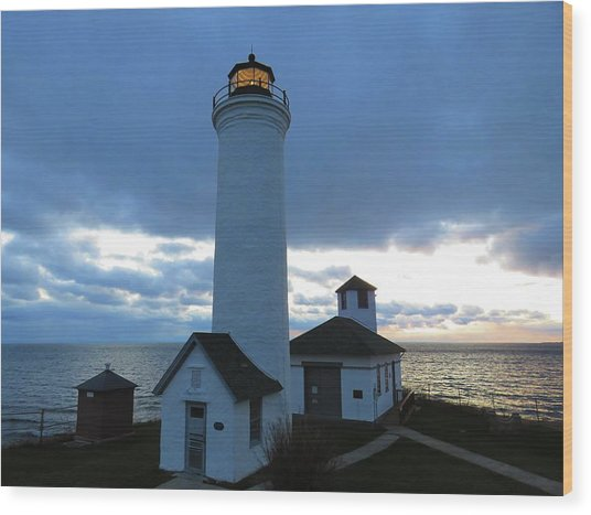 December Light, Tibbetts Point  Wood Print