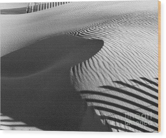 December Sands Wood Print