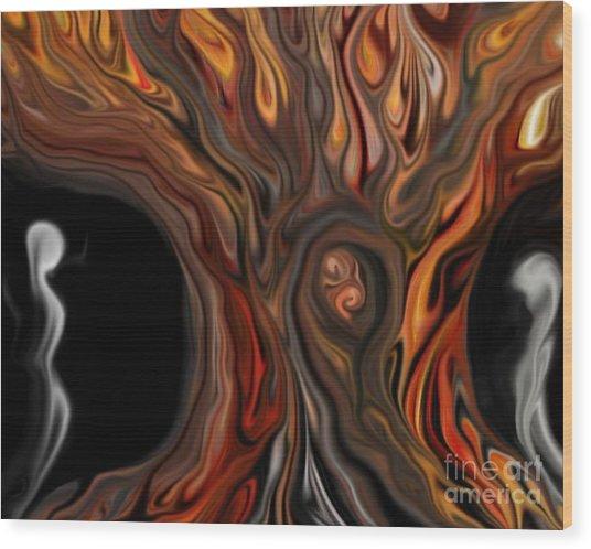 Deciduous Wood Print