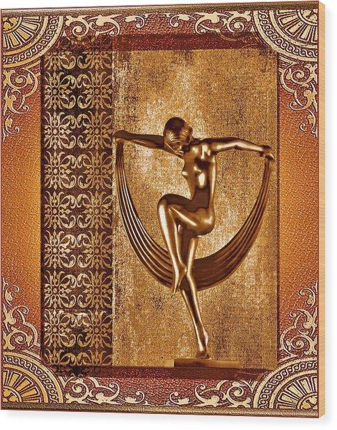 Deco Art Wood Print