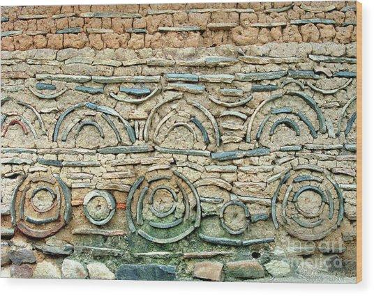 decorative architecture photographs - Korean Wall Wood Print