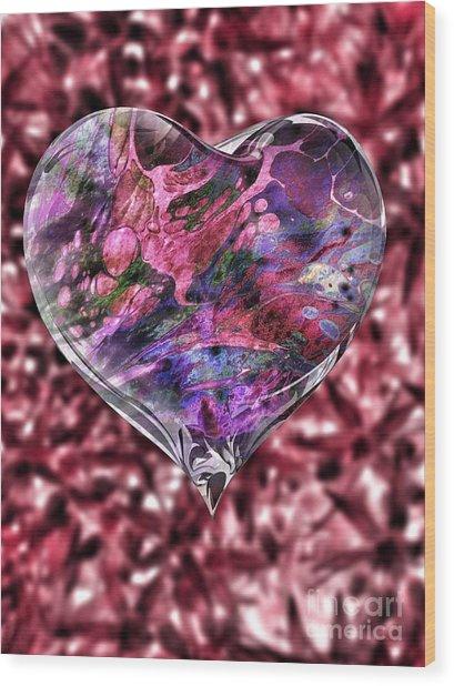 Deep Love Wood Print