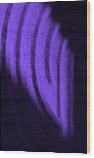Deep Maze Wood Print