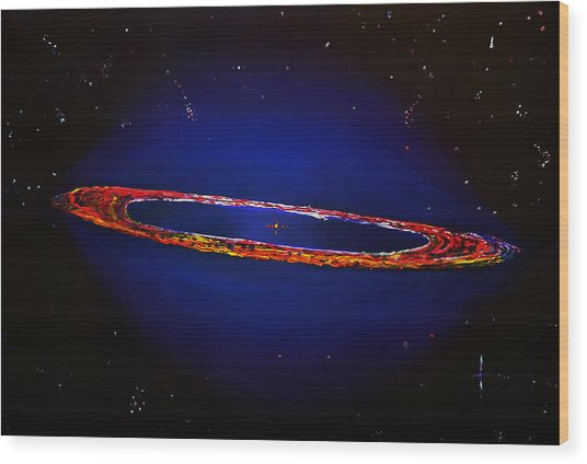 Deep Space Hubble Wood Print by Gregory Allen Page