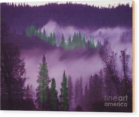 Deer Creek Canyon Wood Print