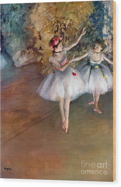 Degas: Dancers, C1877 Wood Print