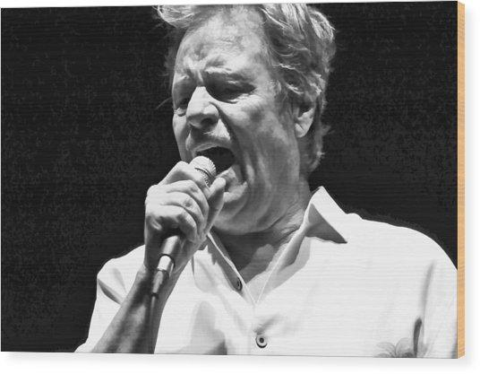 Delbert Mcclinton Sings The Blues Wood Print