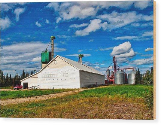 Delta Farmers Co Op Wood Print