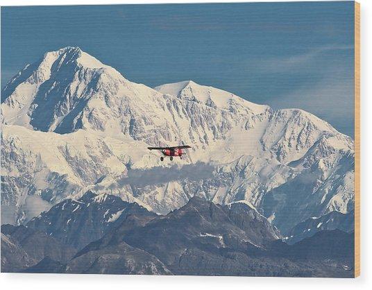 Denali Air Wood Print