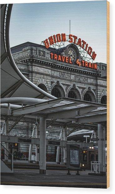 Denver 365 Wood Print