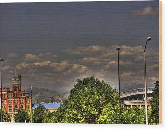 Denver Wood Print by Laurie Prentice