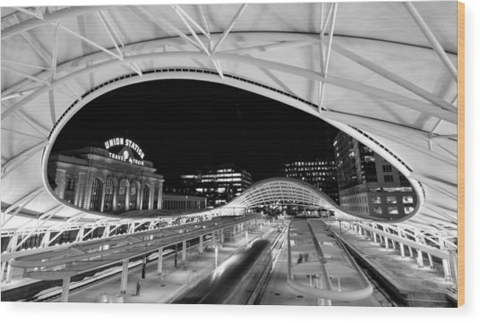 Denver Union Station 1 Wood Print