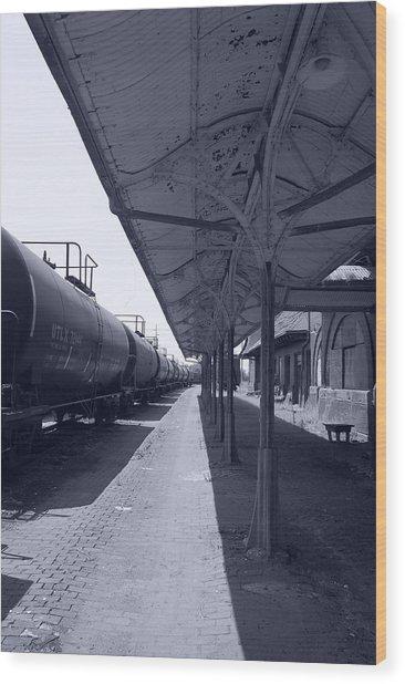 Departing Depot Wood Print by Jame Hayes