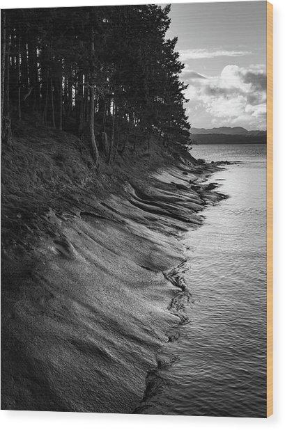 Descanso Bay Wood Print