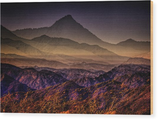 Desert Dreams Wood Print