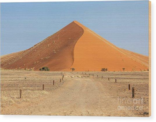 Desert Dune Wood Print