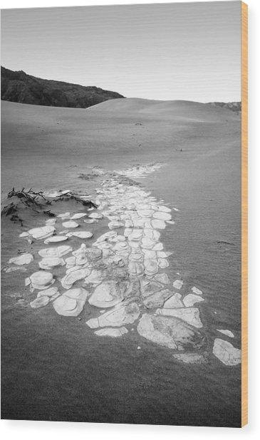 Desert Dune Landscape Wood Print