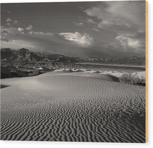 Desert Dunes Wood Print