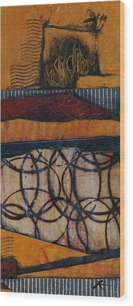 Desert Heat Wood Print by Laura Lein-Svencner