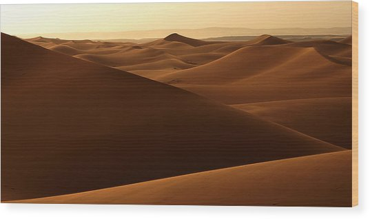 Desert Impression Wood Print