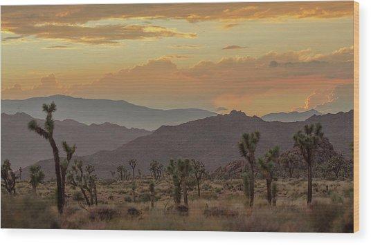 Desert Magic Wood Print