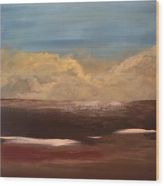 Desert Sands Wood Print