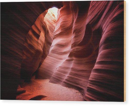 Desert Southwest Underworld Wood Print